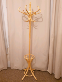 Wooden Hat and Coat Stand - Pine - INTACT - Bargain
