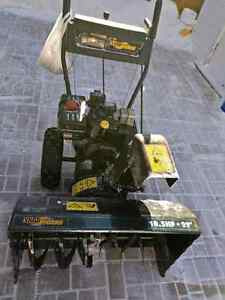 "Yardworks 29"" snow blower"