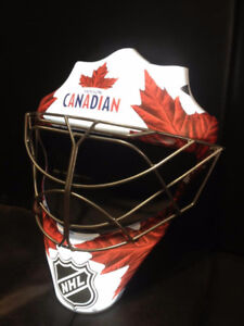 Molson Canadian light up goalie mask