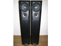 MISSION 782 Speakers Floor Standing Black Ash 200W 3-way Home Cinema Large Audiophile