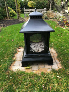 Outdoor fire stand