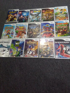 Selling all my Nintendo Wii Games