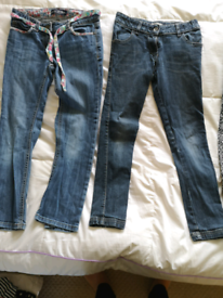Age 9-10 girls Jeans and trousers