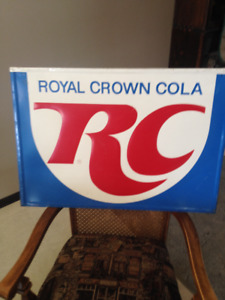 RC COLA SIGN