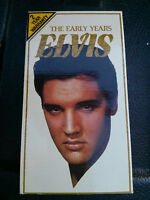 ELVIS -  THE EARLY YEARS - VHS MOVIE