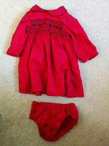 Christmas / Holiday dress red 3 months Carter's Kitchener / Waterloo Kitchener Area image 1