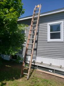 Louisville fiberglass extension ladder
