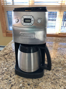Cuisinart coffee pot.   Stainless steel