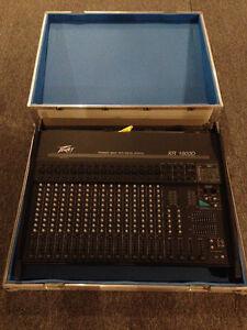 Peavey XR1600 D Powered Mixer w/Custom Case