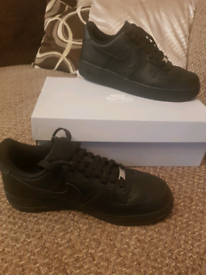 Nike Air Force 1 size 8 perfect condition.