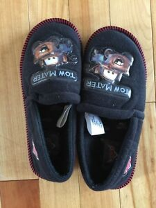 """Cars"" boys slippers sz 11-12"