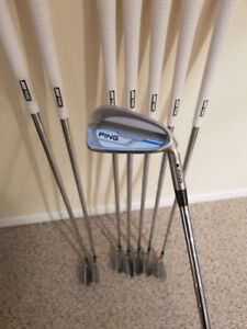 Ping iE1 4-PW, UW Iron Set with Ping Crossover 3H