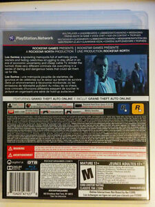 Grand Theft Auto V PS3 - Brand New, Black Label Launch Copy Kitchener / Waterloo Kitchener Area image 4