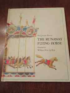 The Runaway  Flying (carousel) horse - Bonzon Du Bois