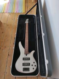 Yamaha Bass Guitar with hardshell case