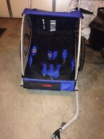 Schwinn Two Seat Bike Trailer