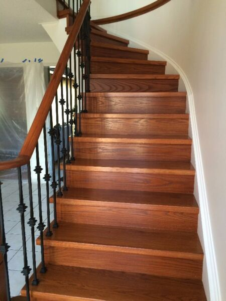 Canadian Solid Wood Staircase On Sale Other City Of