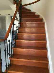 Canadian Solid wood Staircase on Sale