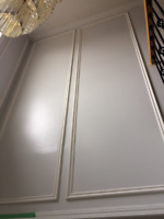 Interior Renovation: Crown Moulding, Wainscot, Coffered, Panels