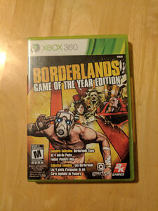Borderlands Game of the Year Edition - Mint Condition