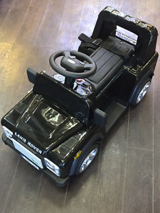 LAND ROVER DRIVABLE RIDE ON KIDS CAR + REMOTE CONTROLLED! SALE!