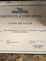 Justice of the Peace for Nova Scotia