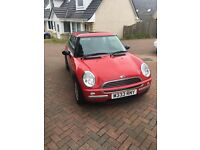 Mini one 1.6 petrol 2002