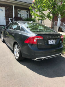 Volvo S60 T5 2017 POLESTAR, all wheel drive *** transfer de bail