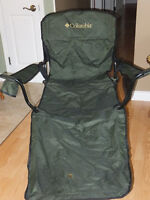 Columbia Camp Chair with Foot Rest