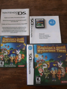 nintendo DS  Magician Quest Mysterious Times