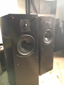 LS-5 Speakers, Kef B200 and Kef T33, Custom Tower, Passive