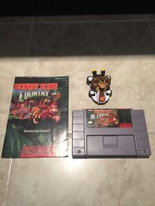 Donkey Kong Country and instructions manual snes Kitchener / Waterloo Kitchener Area image 1
