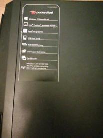 PACKARD BELL COMPUTER PLUS BUSH TV