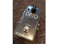 Ditto Stereo Looper TC Electronic Guitar Pedal