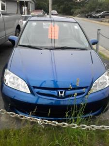 2005 Honda civic SI. Low KM
