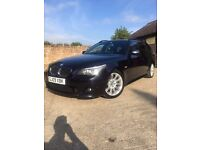 "BMW 2009"" 530D turbo diesel touring E61 estate M-sport May px or swap"