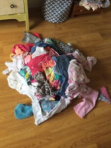 Large lot of girls 3-6 months clothes