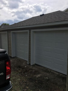 Available immediately two garage spaces