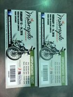Half price tickets for motorcycle & ATV show