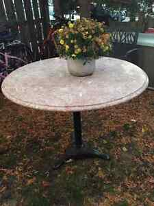 Marble Patio Table