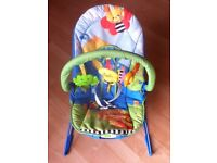 Fisher Price animal baby bouncer