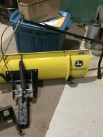 John Deere new snow plow 46 inch includes attachments