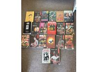 Large collection of Bruce lee, martial art vhs