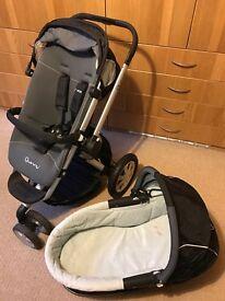 Quincy Buzz Black Standard Single Seat Stroller