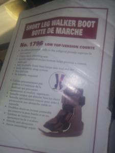 OTC  Short Leg Walker Boot