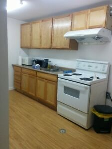 Nice three bedroom suite for rent from July 15