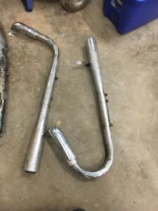1983 Shadow 750 aftermarket pipes
