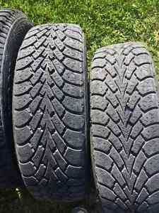 Set of Winter tires with Rims     P175/65 R14