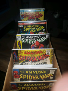 LARGE SELECTION OF SILVER AGE AMAZING SPIDER-MAN COMICS!