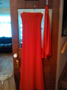 Prom or evening gown